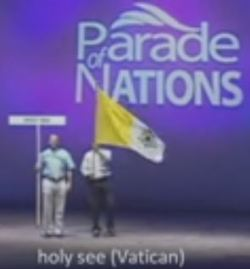 Vatican Flag at General Conference